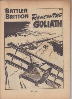 Extrait de Battler Britton (Imperia) -14- Battler Briton rencontre Goliath