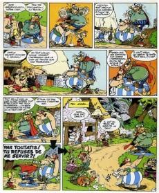 Extrait de Astérix (en italien) -16- Asterix e gli elvezi