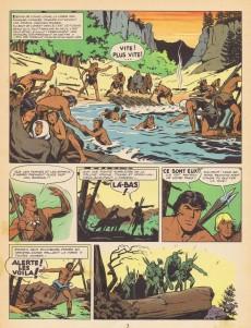 Extrait de Tounga (Brochée) -2- Tounga et les hommes rouges