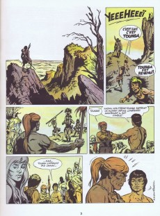 Extrait de Tounga (Brochée) -8- Le maître des mammouths