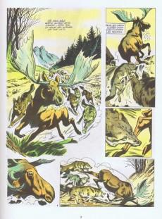 Extrait de Tounga (Cartonné) -3- Des loups et des hommes