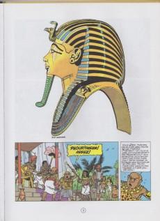 Extrait de Papyrus -17b99- Toutankhamon le pharaon assassiné