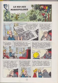 Extrait de Spirou et Fantasio -12d77- Le nid des Marsupilamis