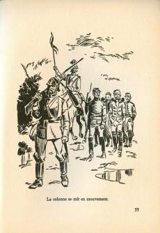 Extrait de (AUT) Funcken - Une armée prisonnière