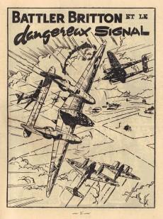 Extrait de Battler Britton (Imperia) -34- Dangereux signal - audace - l'as du fric frac