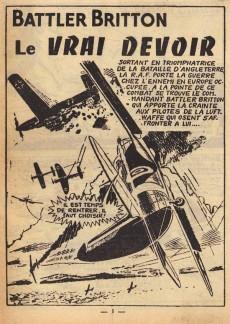 Extrait de Battler Britton -71- Le vrai devoir - le révolté - black out