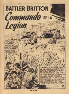 Extrait de Battler Britton -75- Commando de la légion - rapt