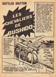 Extrait de Battler Britton (Imperia) -124- Les Chevaliers de bushido