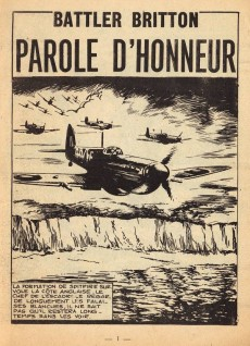 Extrait de Battler Britton -243- Parole d'honneur - le lâche