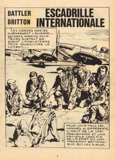 Extrait de Battler Britton (Imperia) -365- Escadrille internationale - le culte du diable