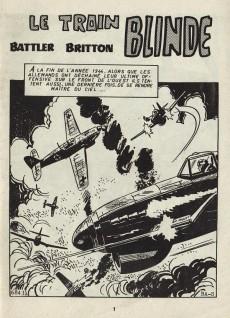 Extrait de Battler Britton (Imperia) -426- Le Train blindé - Gloire éternelle - Arc en ciel sur la Manche - 3 jours de permission