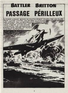 Extrait de Battler Britton -450- Passage périlleux - sa vieille