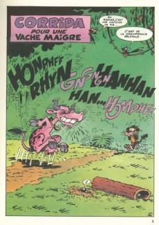 Extrait de La jungle en folie (16/22) -353- Corrida pour une vache maigre
