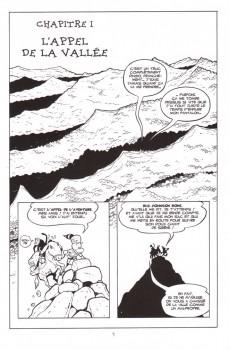 Extrait de Bone (Delcourt, en noir et blanc) -HS2- Big Johnson Bone contre les rats-garous