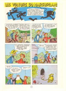 Extrait de Spirou et Fantasio -5e81- Les voleurs du Marsupilami
