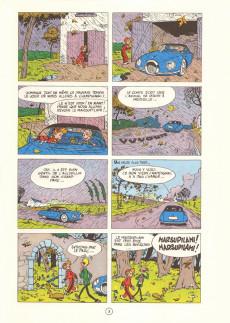 Extrait de Spirou et Fantasio -7e80- Le dictateur et le champignon