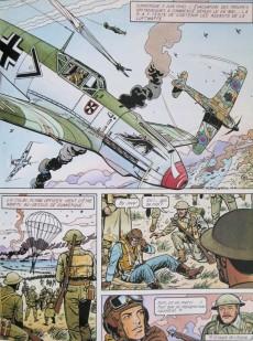 Extrait de Les grandes batailles de l'histoire en BD -5- Les batailles aériennes de la seconde guerre mondiale