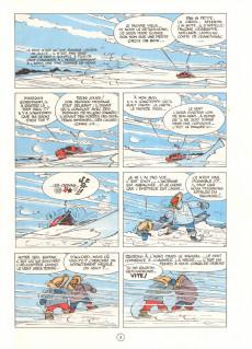 Extrait de Spirou et Fantasio -13d80- Le voyageur du mésozoïque