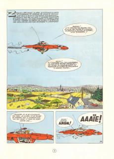 Extrait de Spirou et Fantasio -16d80- L'ombre du Z