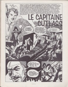 Extrait de Psycho -1- Le capitaine Cutlass