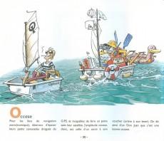 Extrait de Illustré (Le Petit) (La Sirène / Soleil Productions / Elcy) - La Voile illustrée de A à Z