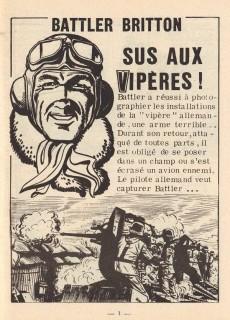 Extrait de Battler Britton -156- Sus aux vipères ! - Évasion