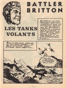 Extrait de Battler Britton -160- Les tanks volants - le bon élève - l'aigle à deux têtes
