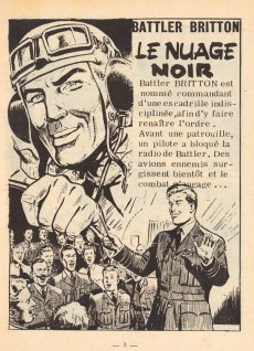 Extrait de Battler Britton -170- Le Nuage noir - Un voyage en France