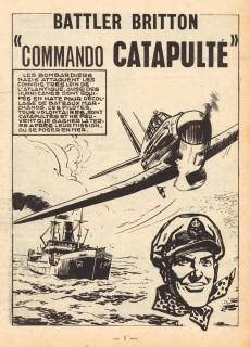 Extrait de Battler Britton -177- Commando catapulté - l'épave