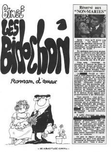 Extrait de Les bidochon -1a1994- Roman d'amour