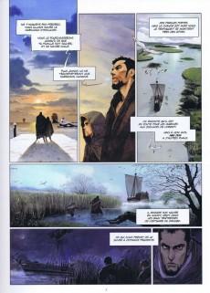 Extrait de La chronique des Immortels -43- Le Vampyre - Première Partie