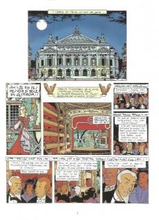 Extrait de Rouletabille (Duchâteau/Swysen) -2- Le fantôme de l'opéra