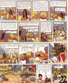 Extrait de Luc et Laplume - Le trône de Gilgit