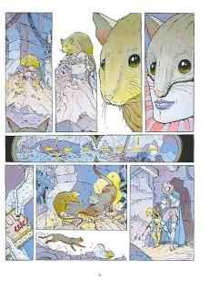 Extrait de Les eaux de Mortelune -1b1996- L'échiquier du rat