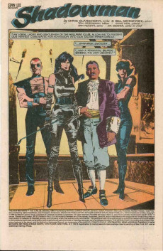 Extrait de New Mutants (The) (1983) -23- Shadowman