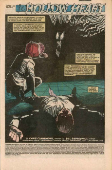 Extrait de New Mutants (The) (1983) -24- The Hollow Heart