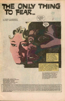 Extrait de New Mutants (The) (1983) -25- The Only Thing To Fear