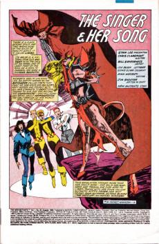 Extrait de New Mutants (The) (1983) -30- The Singer & Her Song