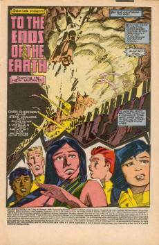 Extrait de New Mutants (The) (1983) -32- To the Ends of the Earth