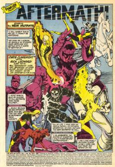 Extrait de New Mutants (The) (1983) -38- Aftermath