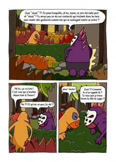 Extrait de Tangerine et Zinzolin -1- Le monde est violet comme une orange