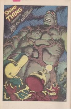 Extrait de Swamp Thing (1982) -32- Pog