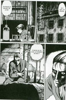 Extrait de Frankenstein (Ito) - Frankenstein