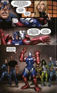 Extrait de Marvel Universe (Panini - 2013) -3- What if? Civil war