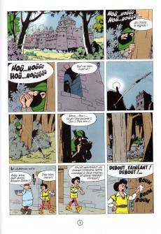 Extrait de Johan et Pirlouit -7e90- La flèche noire