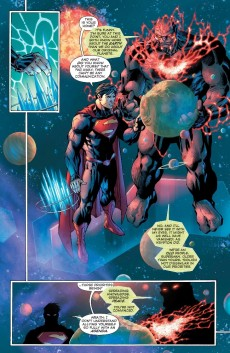 Extrait de Superman Unchained (2013) -5- A Place Between