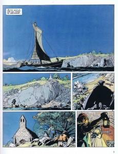 Extrait de L'Épervier (Pellerin) -1a 95- Le Trépassé de Kermellec