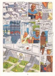 Extrait de La nuit des archées - Une aventure d'Anaelle et Myrios