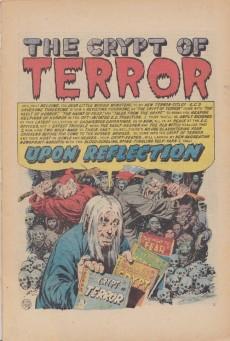 Extrait de E.C. Classic Reprint (1973) -1- The crypt of terror #1