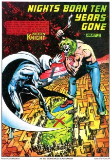 Extrait de Moon Knight Special Edition (1983) -2- An Eclipse Waning/Nights Born Ten Years Gone